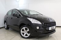 USED 2011 11 PEUGEOT 3008 1.6 SPORT HDI 5DR 112 BHP FULL SERVICE HISTORY + PARKING SENSOR + CRUISE CONTROL + AUXILIARY PORT + AIR CONDITIONING + 17 INCH ALLOY WHEELS