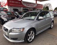 2010 VOLVO V50 2.0 D R-DESIGN ESTATE *FULL S/HISTORY* £4995.00
