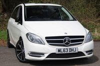 USED 2013 63 MERCEDES-BENZ B CLASS 1.8 B180 CDI BLUEEFFICIENCY SPORT 5d AUTO 109 BHP LOW MILEAGE AUTOMATIC MODEL IN STUNNING WHITE.