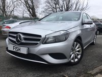 2014 MERCEDES-BENZ A CLASS 1.8 A180 CDI BLUEEFFICIENCY SE 5d AUTO 109BHP £10690.00