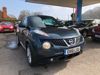 USED 2011 61 NISSAN JUKE 1.6 ACENTA SPORT 5d 117 BHP NEED FINANCE? WE STRIVE FOR 94% ACCEPTANCE