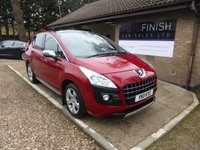 USED 2011 11 PEUGEOT 3008 1.6 EXCLUSIVE HDI 5d AUTO 112 BHP REAR PARKING SENSORS, GLASS ROOF, CRUISE CONTROL