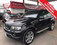 2006 BMW X5 3.0 D SPORT 5d 215 BHP AUTO GREAT SPEC £6995.00