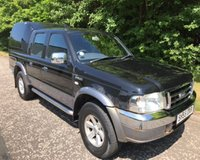 2005 FORD RANGER 2.5 XLT 4X4 TD NO VAT PICK UP 107 BHP £2200.00