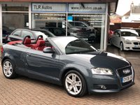 USED 2008 08 AUDI A3 1.8TFSI SPORT Convertible Free MOT for Life