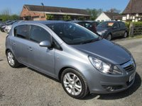 USED 2010 10 VAUXHALL CORSA 1.4 SXI A/C 5DR FULL SERVICE HISTORY ALLOYS CD AC