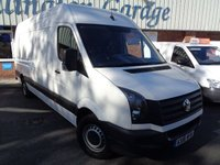 USED 2016 16 VOLKSWAGEN CRAFTER 2.0 CR35 TDI H/R P/V 1d 108 BHP