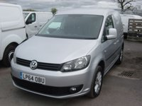 USED 2015 64 VOLKSWAGEN CADDY 1.6 C20 TDI HIGHLINE 1d 101 BHP ALLOYS **NO VAT** AIR CON CRUISE CONTROL