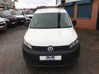 USED 2013 13 VOLKSWAGEN CADDY SWB 1.6TDI PLUS 1 OWNER *AIR CON* SERVICE HISTORY VERY CLEAN