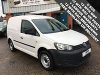 2013 VOLKSWAGEN CADDY SWB 1.6TDI PLUS 1 OWNER *AIR CON* SERVICE HISTORY VERY CLEAN £6995.00