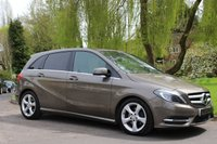 USED 2013 13 MERCEDES-BENZ B CLASS 1.8 B180 CDI BLUEEFFICIENCY SPORT 5d AUTO 109 BHP