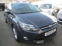2012 FORD FOCUS 1.6 ZETEC 5d AUTOMATIC   124 BHP £6695.00