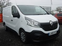 2014 RENAULT TRAFIC 1.6 SL27 BUSINESS ENERGY DCI S/R P/V 1d 120 BHP AIR CON SAT NAV PARKING SENSORS £8495.00