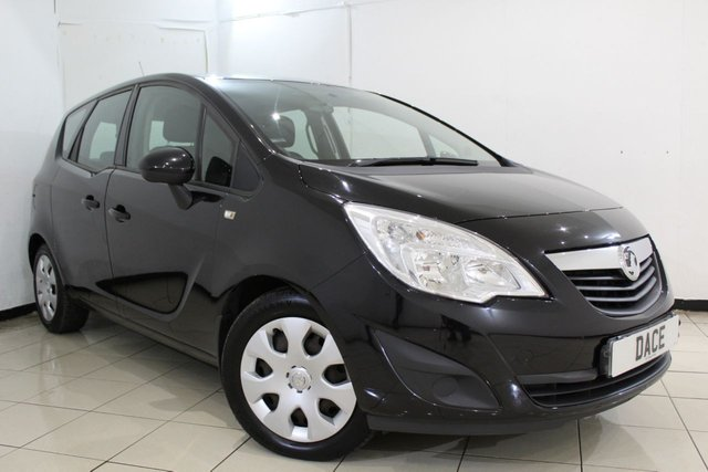 View our 2010 60 VAUXHALL MERIVA 1.7 EXCLUSIV CDTI 5DR 99 BHP