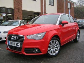 2011 AUDI A1 1.4 TFSI SPORT 3d AUTO 122 BHP £SOLD