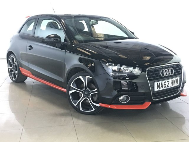View our 2012 62 AUDI A1 1.4 TFSI COMPETITION LINE 3d 122 BHP
