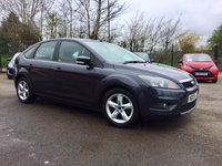 USED 2009 09 FORD FOCUS 1.6 ZETEC 5d     PART EXCHANGE TO CLEAR  NO DEPOSIT  FINANCE ARRANGED, APPLY HERE NOW