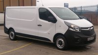 2014 VAUXHALL VIVARO 1.6 2900 L2H1 CDTI P/V 1d 114 BHP LWB 1 OWNER \ NO VAT TO ADD //  FREE 12 MONTHS WARRANTY COVER // £9990.00
