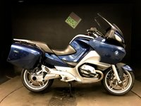 2008 BMW R 1200 RT 08. FSH. JUST SERVICED. RECENT CLUTCH AND VALVES. ABS. ESA. CRUISE £4150.00