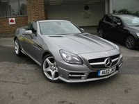2012 MERCEDES-BENZ SLK 1.8 SLK200 BLUEEFFICIENCY AMG SPORT 2d AUTO 184 BHP £11495.00