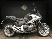 USED 2016 16 HONDA NC 750 XD-G. DCT. 16. 1 OWNER. 4876 MILES. E BARS. H GRIPS. ABS