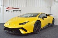 2017 LAMBORGHINI HURACAN 5.2 LP 640-4 PERFORMANTE 2d AUTO 631 BHP £259995.00
