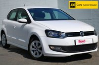 USED 2012 62 VOLKSWAGEN POLO 1.2 BLUEMOTION TDI 5d 74 BHP CANDY WHITE + FREE TAX
