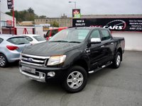USED 2013 63 FORD RANGER 2.2 LIMITED 4X4 DCB TDCI 148 BHP