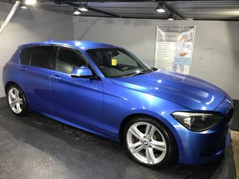 2013 BMW 1 SERIES 2.0 118D M SPORT 5d AUTO 141 BHP £SOLD