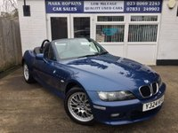 USED 2001 Y BMW Z3 2.2 Z3 ROADSTER 2d AUTO 168 BHP 46K FSH LADY OWNER 9 YEARS FULL LEATHER EXCELLENT CONDITION