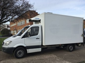 2012 MERCEDES-BENZ SPRINTER 2.1 313CDI LWB FRIDGE FREEZER BOX LUTON TAIL LIFT 130BHP. PX £11990.00