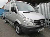2010 MERCEDES-BENZ SPRINTER 210 CDi SWB AUTOMATIC *AIR CON*NO VAT* £10000.00