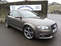 2012 AUDI A3 2.0 TDI S LINE SPECIAL EDITION 3d 138 BHP £9995.00