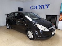 USED 2009 59 VAUXHALL CORSA 1.0 LIFE 3d 60 BHP * LOW MILES * LONG MOT *
