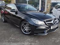 USED 2016 16 MERCEDES-BENZ E CLASS 2.0 E200 Coupe AMG Line Premium 2dr 7G-Tronic Nav & Panoramic sun roof