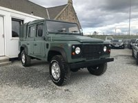 2007 LAND ROVER DEFENDER 110 Double Cab Pick Up 2.4 TDCi ( 122 bhp ) £14995.00
