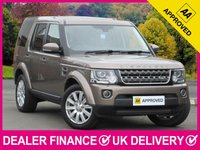 USED 2015 15 LAND ROVER DISCOVERY 4 3.0 SDV6 XS AUTO COMMERCIAL SAT NAV LEATHER XENONS BLUETOOTH PARKING SENSORS