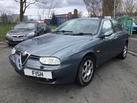 USED 2003 03 ALFA ROMEO 156 1.7 T.SPARK LUSSO 4d 139BHP 2KEYS+HISTORY+MOT+FULL LEATHER