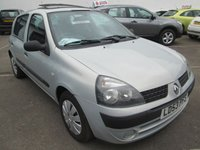 2003 RENAULT CLIO 1.1 EXPRESSION 16V QUICKSHIFT 5 5d AUTOMATIC 75 BHP £1695.00