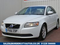 USED 2012 61 VOLVO S40 2.0 D3 ES 4d 148 BHP FULL SERVICE HISTORY
