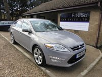 USED 2011 61 FORD MONDEO 2.0 TITANIUM TDCI 5d 161 BHP FULL SERVICE HISTORY WITH 6 STAMPS IN THE SERVICE BOOK!