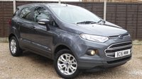 USED 2016 16 FORD ECOSPORT 1.0 ZETEC Ecoboost 5dr 1 Own, FSH, Only 22,000 miles