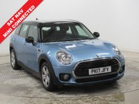 USED 2017 17 MINI CLUBMAN 1.5 COOPER 5d AUTO 134 BHP SAT NAV ***1 Owner, SAT Nav, Mini Connected  (merges innovative apps with your smartphone powerfully and seamlessly. Taking a cue from its parent, BMW, Connected is built on the iDrive platform, giving drivers an array of entertainment and connectivity features that makes it an attractive option),  Mini Excitement Pack, Parking Sensors, Bluetooth, Air Conditioning, Metallic Paint, 2 Keys. Nationwide Delivery Available. Finance Available at 9.9% APR Representative***