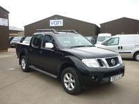2013 NISSAN NAVARA 2.5 DCI TEKNA 4X4 Double Cab 190 BHP Digital air con bluetooth cruise control towbar lift up hard top and much more  £10495.00
