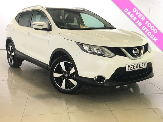 View our 2014 64 NISSAN QASHQAI 1.5 DCI N-TEC PLUS 5d 108 BHP