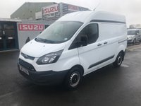 2015 FORD TRANSIT CUSTOM 2.2 290 L1H2 100PSi Panel Van £SOLD