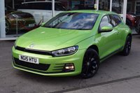 USED 2015 15 VOLKSWAGEN SCIROCCO 1.4 GT TSI BLUEMOTION TECHNOLOGY 2d 123 BHP Full VW Service History