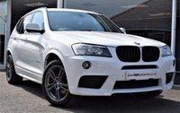 2014 BMW X3 2.0 XDRIVE 20D M SPORT 5d AUTOMATIC 4WD (COMMAND SHIFT)  181 BHP STOP/START  £19990.00