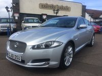 2011 JAGUAR XF 3.0 V6 PREMIUM LUXURY 4d AUTO 240 BHP £SOLD