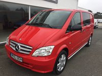 2014 MERCEDES-BENZ VITO 116 CDI DUALINER SPORT 2.1 AUTOMATIC 163 5-SEATER £14495.00